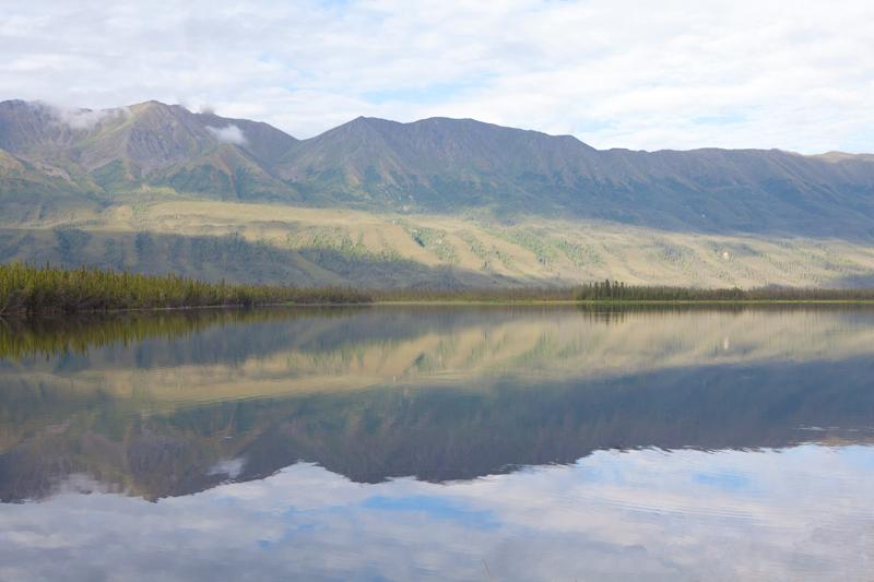 mountain-reflection
