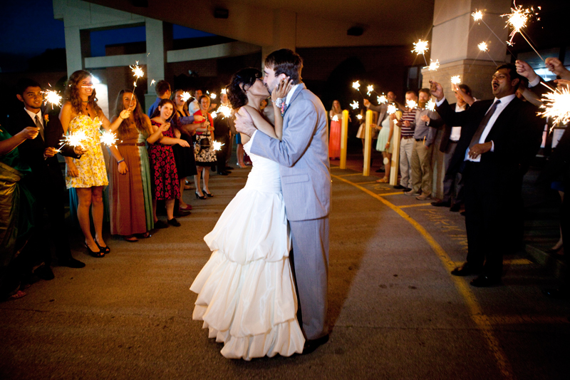 sparkler-wedding-reception